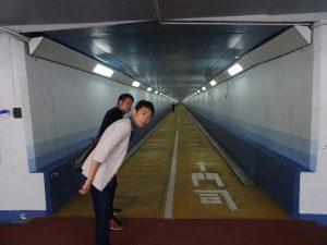 関門海峡人道トンネル